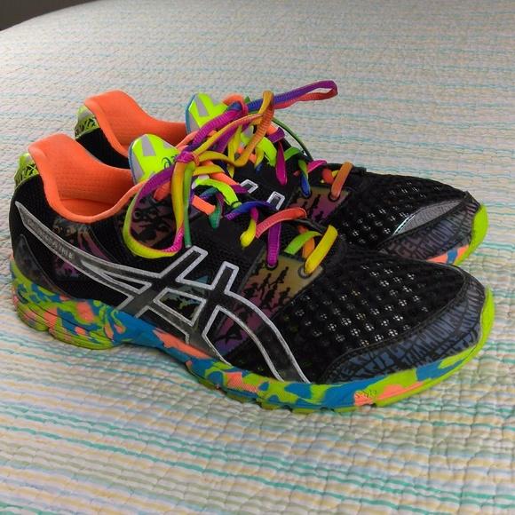 super popular 0da28 c0db6 Asics Gel Noosa Tri 8 Black Neon Confetti Shoes 10.  M 59deb37656b2d6b34d00e3eb