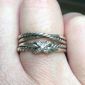 39fc033f2c345 David Yurman Jewelry - Women s size 6 David Yurman crossover ring.
