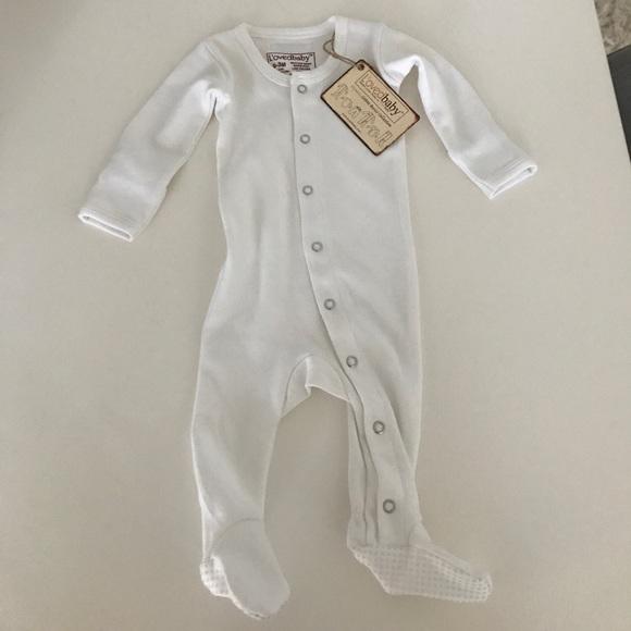 ba767fdeec L oved baby organic cotton white onesie