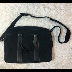 RARE - Coach laptop bag with strap