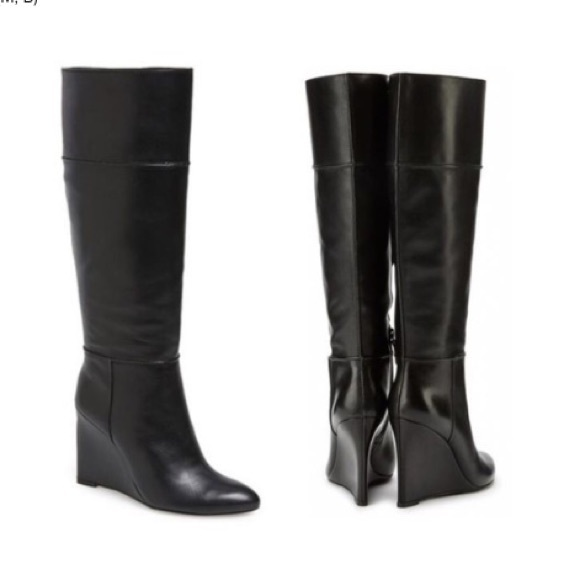 35ceb54fed8 Tory Burch Wedge Knee High Boots