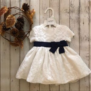 Carter's Holiday Lace Dress