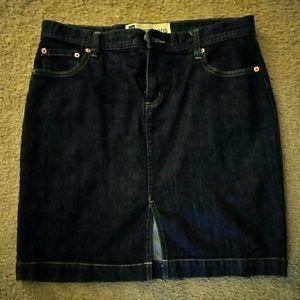 The perfect denim skirt, Gap