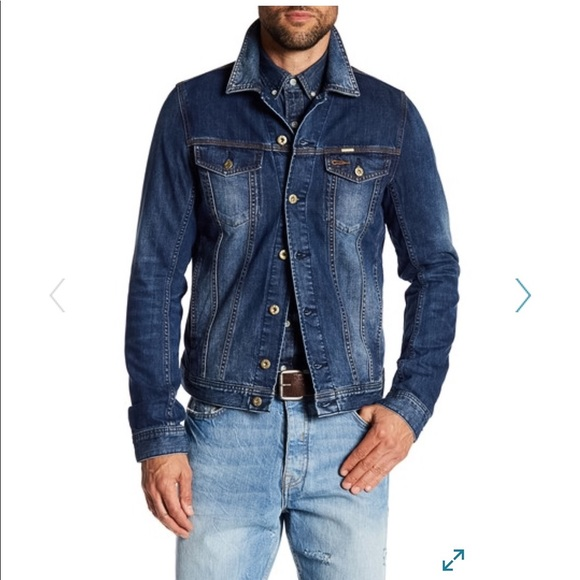 7dd258db Diesel Jackets & Coats | Denim Jacket Mens Large New | Poshmark