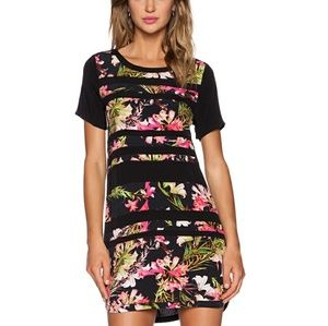 Lovers + Friends Emily Dress in Tropical Bloom