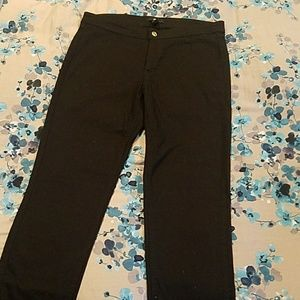 H & M Black denim jeggings