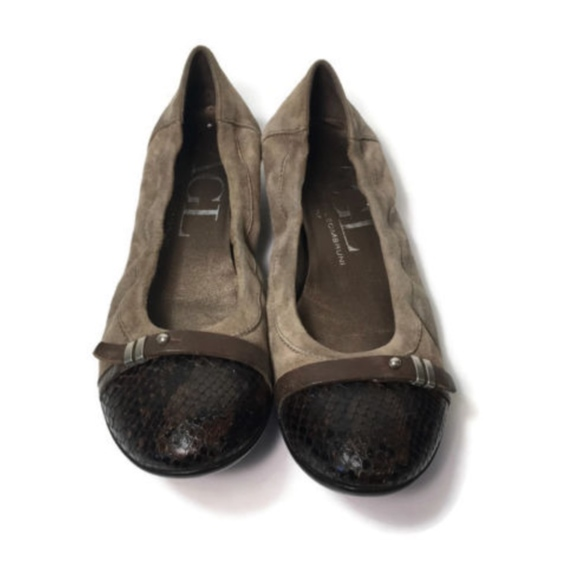 3066860baec Agl Shoes - Attilio Giusti Leombruni Ballet Flats Snakeskin