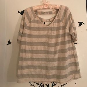NWT Lauren Conrad Striped Shirt!