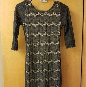 Black Poetry Dress