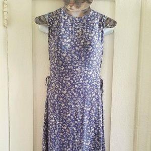 90s Vintage Floral Maxi Dress