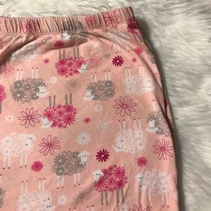 Other - Plus size pink pajama pants