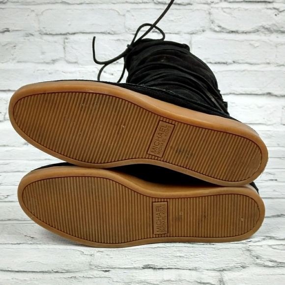 Michael Kors Shoes - Michael Kors moccasin lace up boots