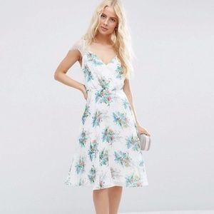 NWT ASOS Delicate White Dress
