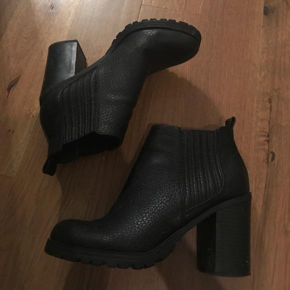 Target Black Ankle Booties   Poshmark
