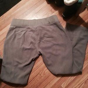 Columbia Gray Fleece pants - see description