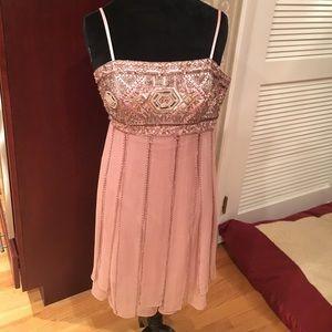 Sue Wong sequin flapper dress