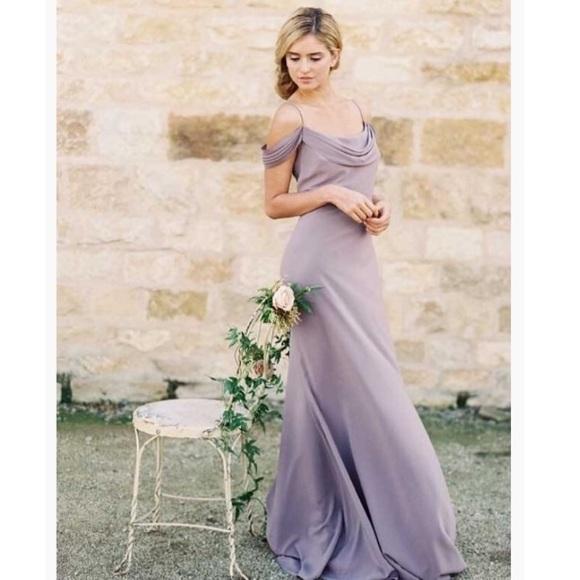 Jenny Yoo Dresses Sabine Dress In Fig Poshmark