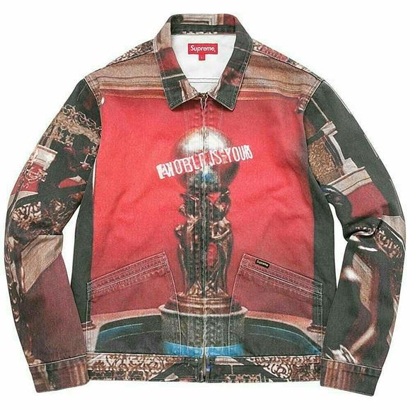 sale retailer 9301e 1f1d6 Supreme Scarface Denim Jacket