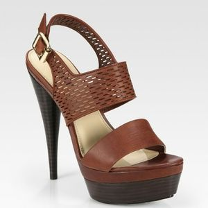 Rachel Zoe Beau Platform Sandals Heels