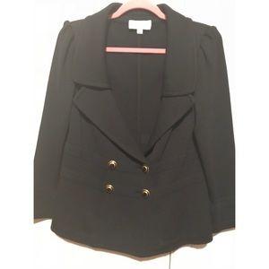 St. John Collection knit black jacket blazer  10