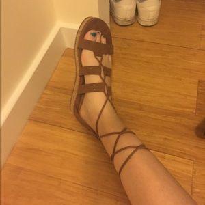 Gladiator style sandal NEW W/O BOX