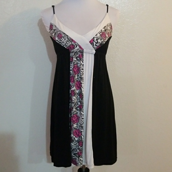 So Cal Clothing >> Socal Large Rose Zebra Print Dress