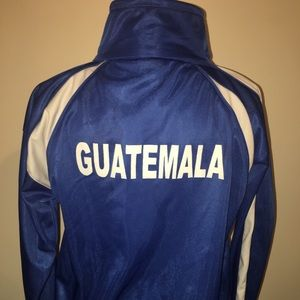 Men's Puma Royal Blue Guatemala jacket small