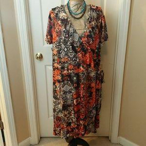 True Wrap Dress from Ashley Stewart Size 26/28