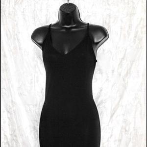Black Maxi Dress.