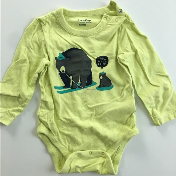 BABY GAP Boys #1 KID IN THE WORLD Body Suit Size 0-3 mos,3-6 mos NWT