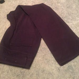 Deep purple jeans
