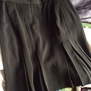 Jones New York Skirts - Jones NY Woolmark Pleated Skirt