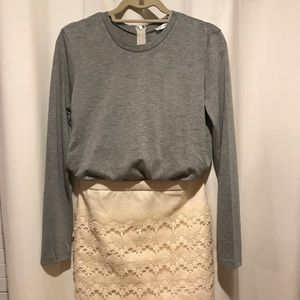 English Factory Cotton and Lace Dress