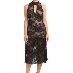 NWT Endless Rose Keyhole Lace Dress Sz 4