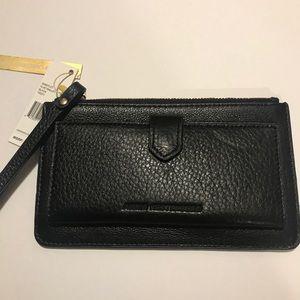 Aimee Kestenberg wristlet genuine leather wallet