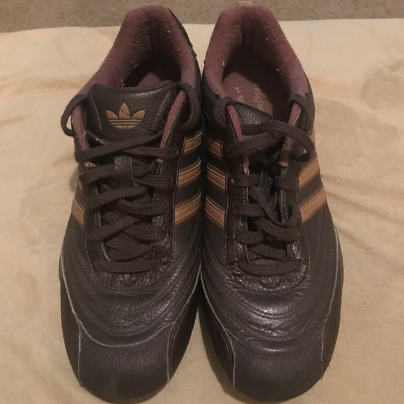 more photos e3662 3ea9a Adidas Other - Vintage Adidas Goodyear driving shoes