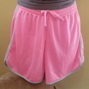 Pink Danskin athletic shorts