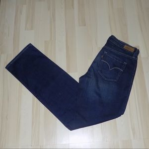 Levi's Dark Blue Denim Jeans