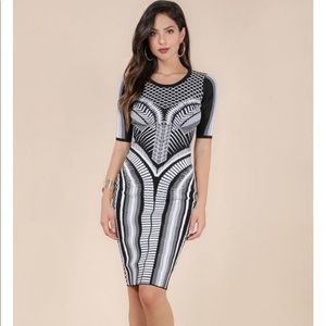 Aztec Print Bandage Dress 🎉Price Drop!