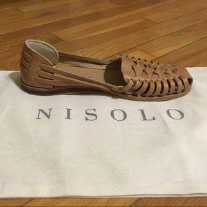 ec7eb73eacff Nisolo Shoes - Nisolo Ecuador Huarache Sandal Almond