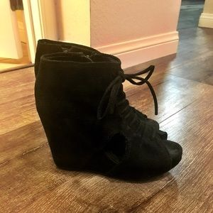 Jeffrey Campbell Suede Wedge