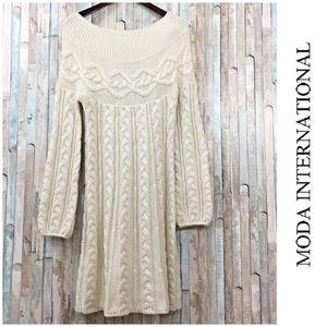 Victoria's Secret Moda Int Sweater Dress