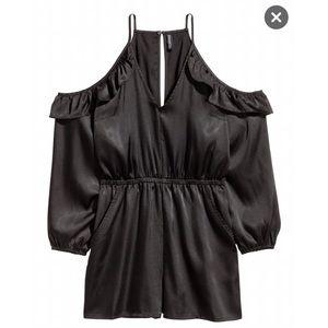 H&M open shoulder jumpsuit