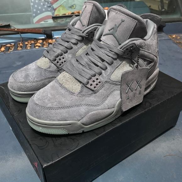 air jordan shoes jordan 4 kaws size 10 wreceipt poshmark