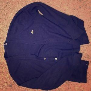 Lacoste vintage cardigan