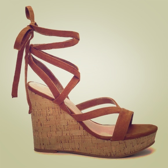 7087bfadb88 Guess Shoes - Guess Treacy Wedge Sandals - 9.5