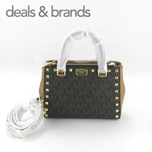 6c32cd6733f13a Michael Kors Bags | Nwt Kellen Studded Leather Xs Satchel | Poshmark