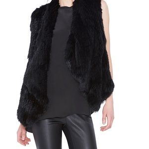 ALICE OLIVIA 100% DYED RABBIT FUR