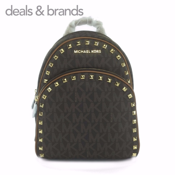 e012051f2737 Michael Kors Bags | Nwt Abbey Medium Studded Backpack | Poshmark