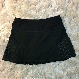 Lululemon Circuit Breaker Skirt Black XS